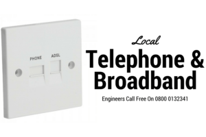 Telephone Engineer and Broadband Sockets